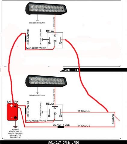 wiring diagram for road led light bar readingrat net