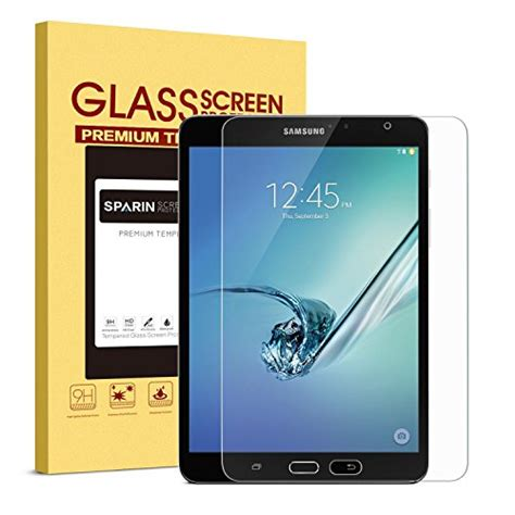 Samsung T715 T710 Tab S2 8 Inch Tempered Glass Screen Protector sparin galaxy tab s2 8 0 sm t710 screen protector