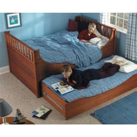 trundle bed plans woodworking woodworker s journal trundle bed plan rockler