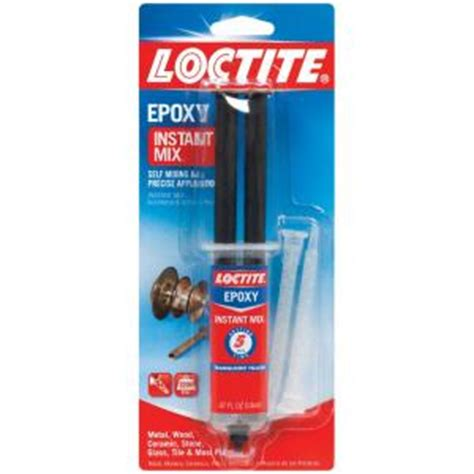 loctite 0 47 fl oz five minute instant mix epoxy 1365868