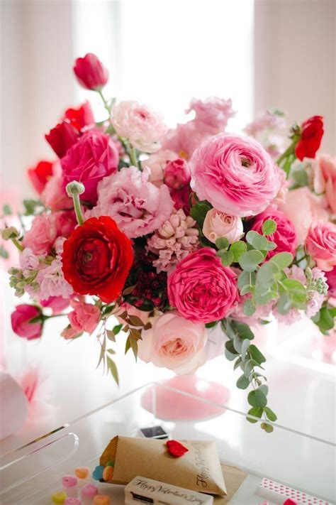 beautiful pink floral centerpiece flowers pinterest