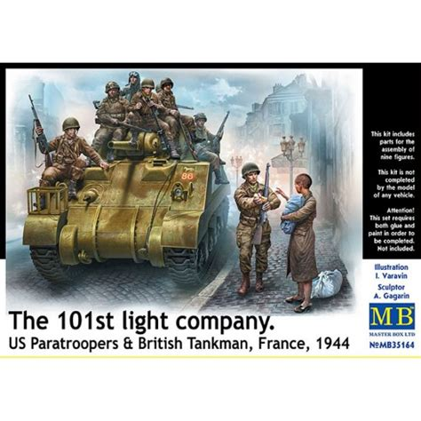 the light company masterbox 35164 1 35 101 light co u s paratroopers