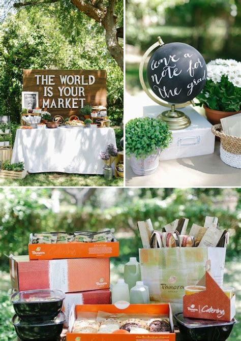 graduation tea themes awesome graduation party idea the world is your market