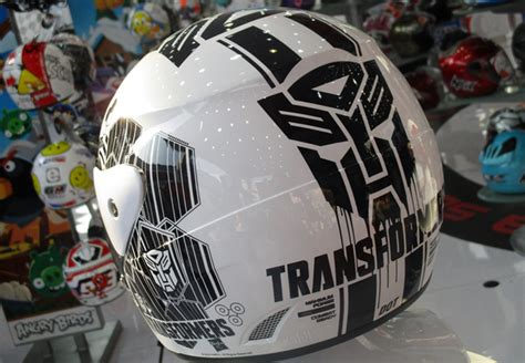 Warna Dan Helm Gm helm gm evolution transformers dan my melody blackxperience