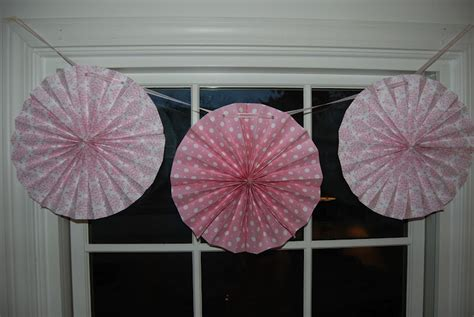 How To Make A Paper Fan Circle - home with lindsay how to make circle paper fans