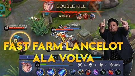 tutorial lancelot tutorial fast farm lancelot ala caster mpl quot volva quot youtube