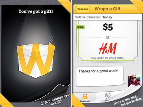 Wrapp Gift Cards - wrapp gift cards get the facebook treatment 171 the allmyfaves blog expert reviews