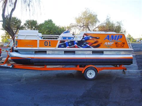 pontoon wrap designs vehicle wraps and screen printing by fast trac designs
