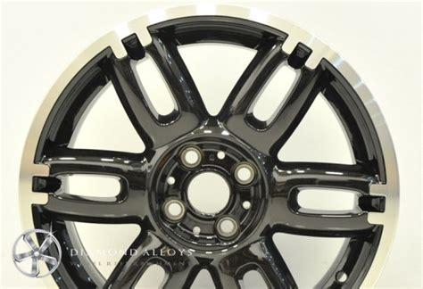 Kalung Taring Serigala Black Alloy cut standard refurbishment customised alloys service