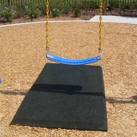 swing mat rubber playground mats swing mats 3 x 5 ft x 1 75 inch