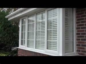 box bay window treatments how to fit plantation window shutters onto a square box