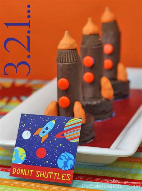 mini space shuttle cakes fun family crafts