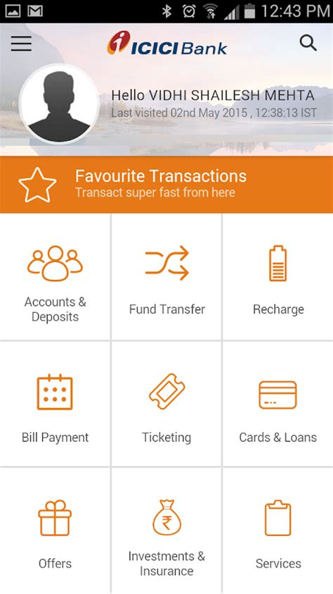 icici bank mobile banking apps icici mobile banking imobile android apps on play