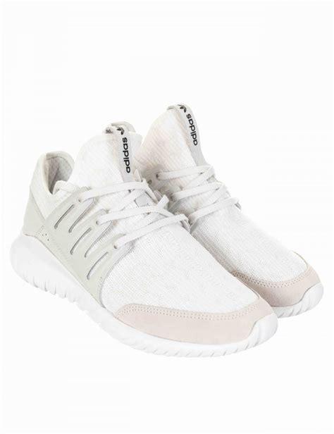 100 Original Adidas Tubular Radial White adidas originals tubular radial shoes vintage white