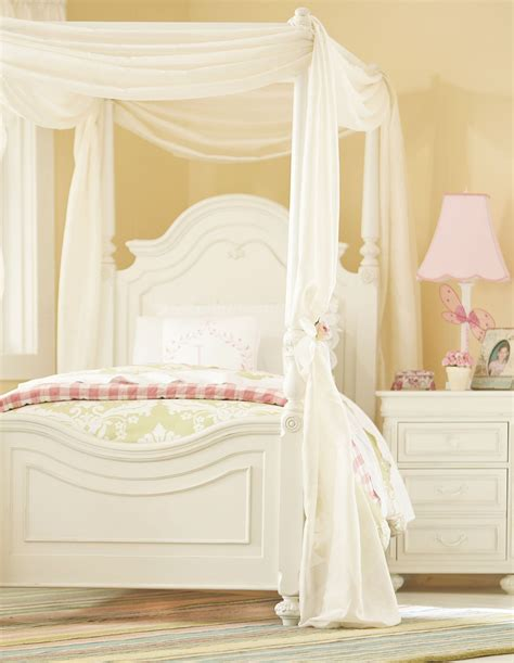 kids canopy bedroom sets charlotte youth low poster canopy kit bedroom set from