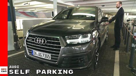 Audi Self Park by Audi Autonomous Self Parking Demonstration Youtube