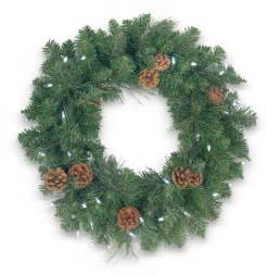 wreath battery operated led lights 24 mixed pine wreath with battery operated led lights