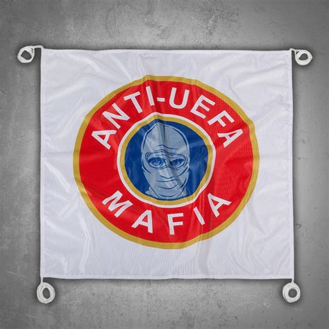 Tshirt Uefa Mafia ultras tifo flag anti uefa mafia
