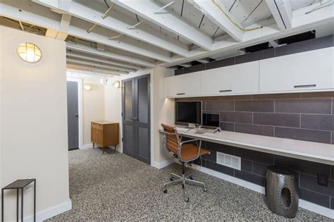 Low Ceiling Basement Solutions by Grandview Heights Basement Remodel This Space Was