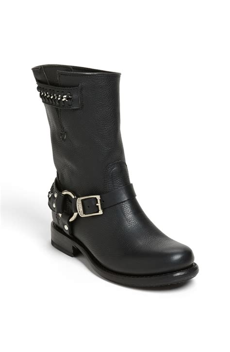 black frye boots frye boot in black lyst