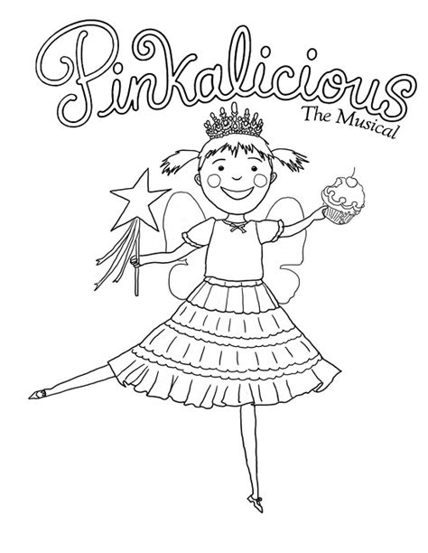 Pinkalicious Coloring Page printable pinkalicious coloring pages coloring me