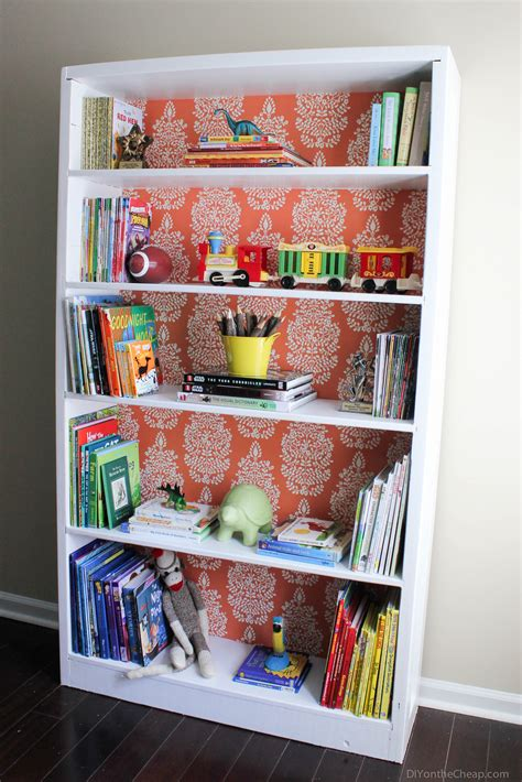 bookshelf makeover before after erin spain
