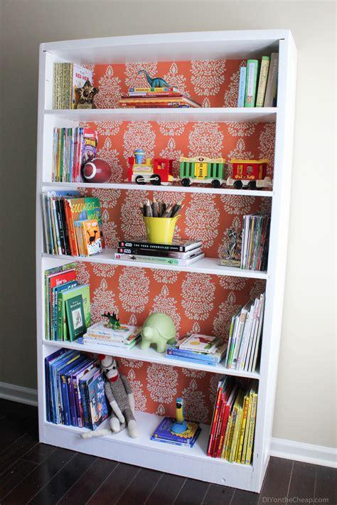 bookshelf makeover before after erin spain