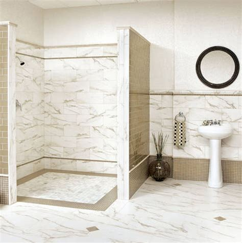 white tile bathroom designs 30 shower tile ideas on a budget