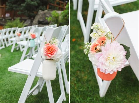 Wedding Aisle Jars by Robbie And Amanda S Lovely Diy Wedding Is A Must See