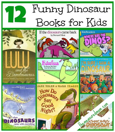 silly picture books books for a dinosaur preschool theme the measured