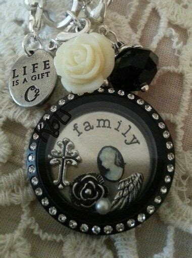 Origami Owl Black Locket Ideas - 30 best origami owl ideas images on