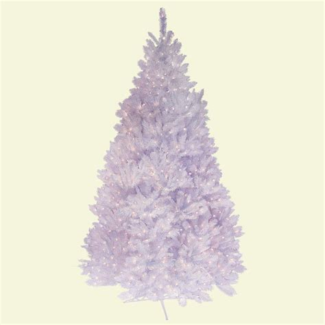 white 7 ft pre lit christmas tree clearance general foam 7 5 ft pre lit deluxe winter white fir artificial tree with clear lights
