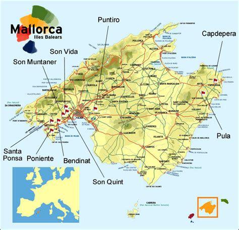 mallorca world map mallorca