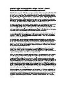 Nelson Mandela Essay by Essay Nelson Mandela My