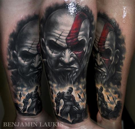 kratos tattoo fanboy fashion tag archive kratos