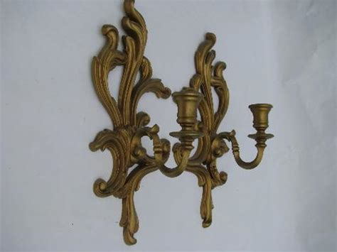 country style candle wall sconces ornate gold mirror wall sconces bracket shelf