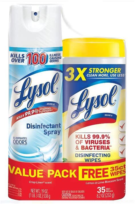 lysol disinfecting wipes  count  lysol spray purchase  walmartcom hipsave