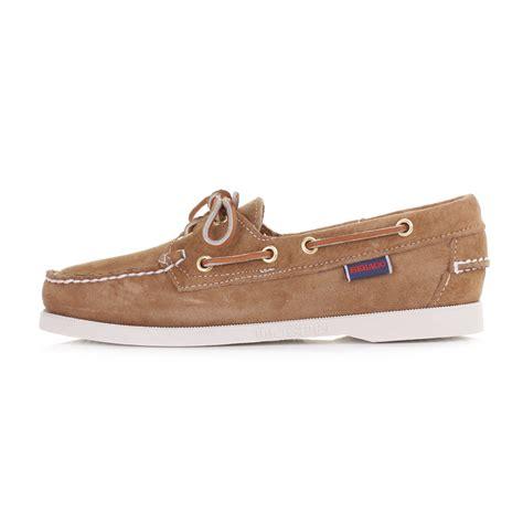 ebay boats shoes womens sebago docksides sand suede moccasin boat deck