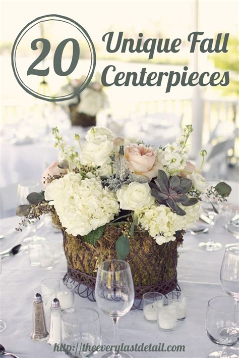 unique centerpieces 20 unique fall centerpiece ideas every last detail