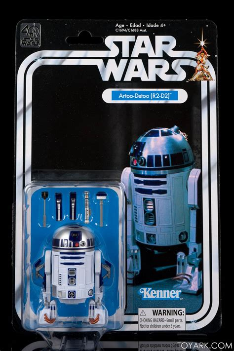 star wars anniversary star wars 40th anniversary black series vintage packaging