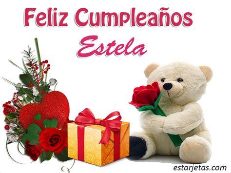 Imagenes Feliz Cumpleaños Estela   feliz cumplea 241 os estela 9 im 225 genes grandes de estarjetas com