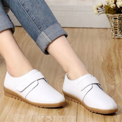 comfortable shoes for elderly aliexpress com buy spring and autumn new flat with