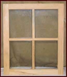 4 lite wood window sash for sheds barns and stables