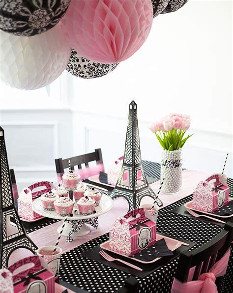 paris themed centerpieces paris damask celebration white damask honeycombs and