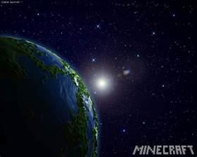 minecraft in space minecraft