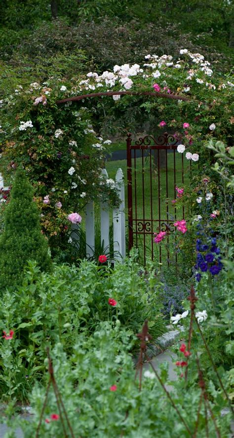 Garden Gate Nursing Home by Traditional Garden For An 1850s Home House