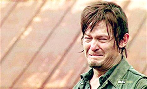 Ugly Cry Meme - new walking dead spoilers should freak out the daryl