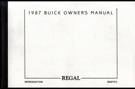 service manual 1987 buick century owners manual pdf service manual 1985 buick century