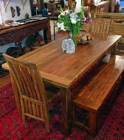 6 foot dining bench teak dining table 3 foot x 6 foot with 4 legsimpact imports