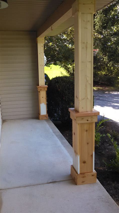 Column Ideas 25 Best Ideas About Porch Columns On Front